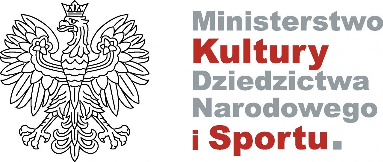 Logotyp Ministerstwo Kultury i Dziedzictwa Narodowego i Sportu